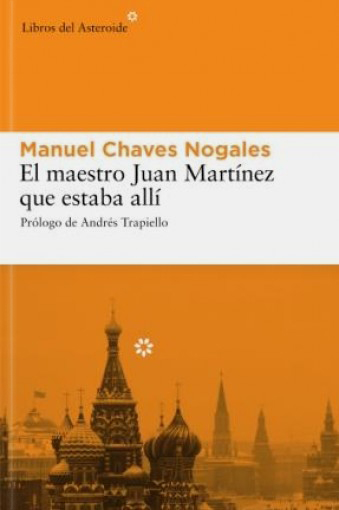 El maestro Juan Martínez que estaba allí